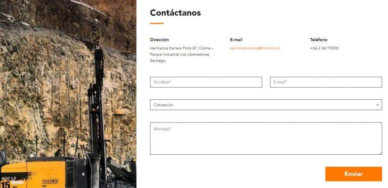Tricomin Contacto