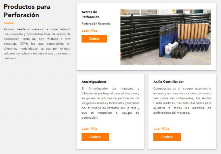 Tricomin Productos